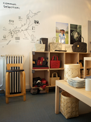 Common Shop Interior Photographed by Katja Hagelstam