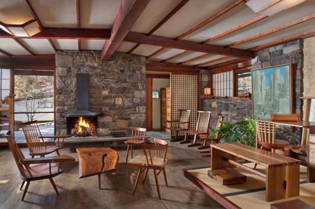 Nakashima Showroom in New Hope, Pennsylvania