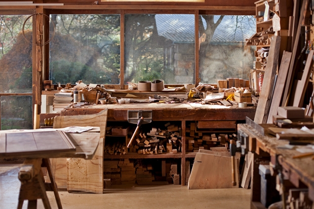 Nakashima Workshop in New Hope, Pennsylvania