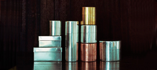 Handmade Metal Cans and Boxes by SyuRo