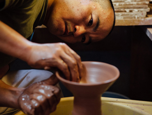 Japanese Potter Katsufumi Baba