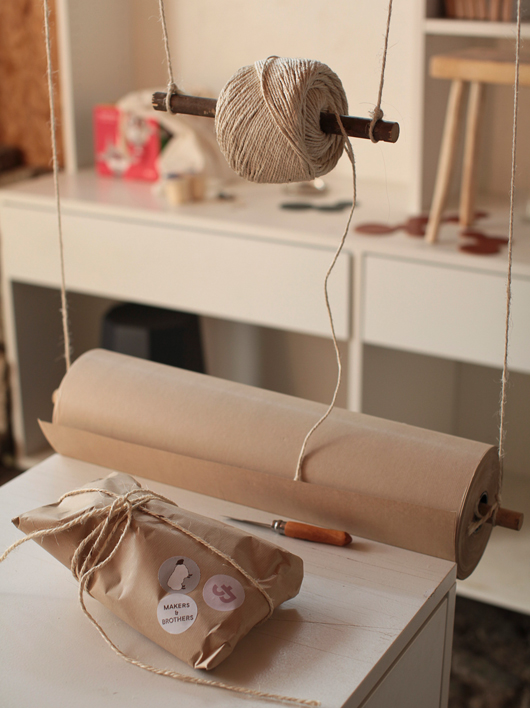 Makers and Brothers Wrapping Station
