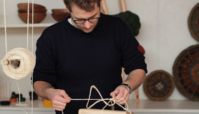 Jonathan Legge, Co-Founder of Makers and Brothers Wrapping Parcels