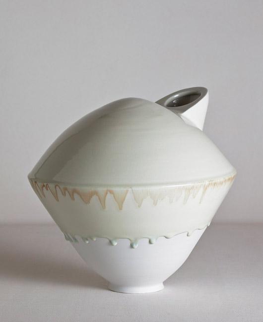 Matthias Kaiser Celadon Vase