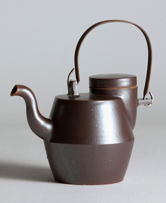 Matthias Kaiser Brown Teapot