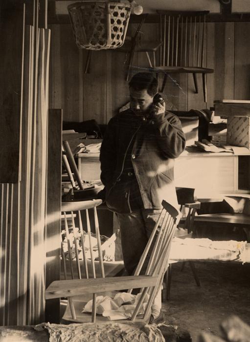 George Nakashima, Archive Photograph