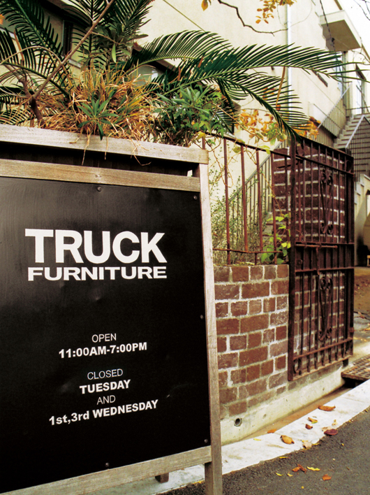 TRUCK Furniture Signage