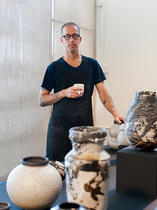 Interview With American Potter Adam Silverman Oen