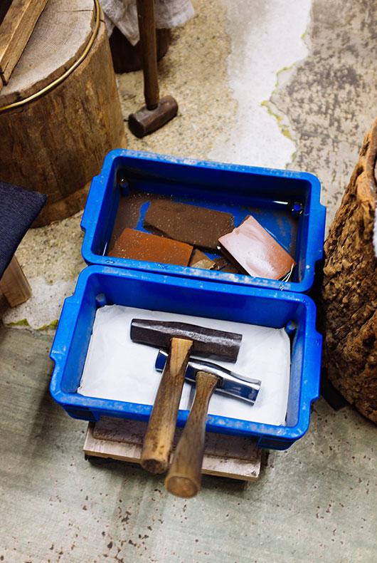 Sharpening Stones and Tools by Rieko Fujimoto