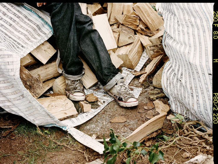 Wearing the Regular Denim, from the Hiut Denim Lookbook shot by San Francisco based photographer Andrew Paynter.