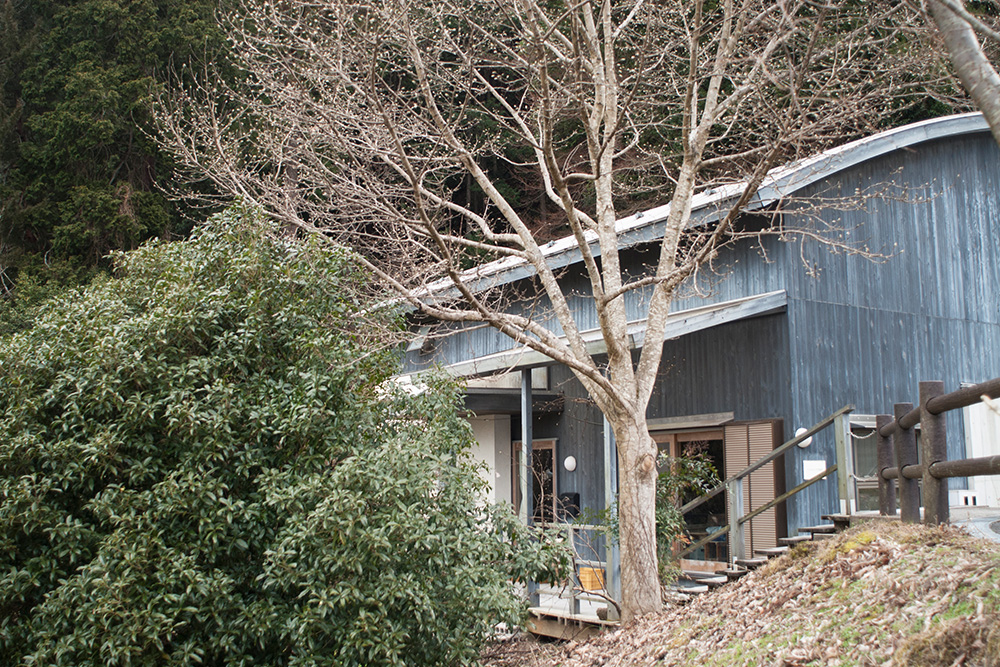 A view of the Inima workshop in the beautiful village of Kawakami-mura.