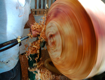 Interview with English Wood Turner Jonathan Leech
