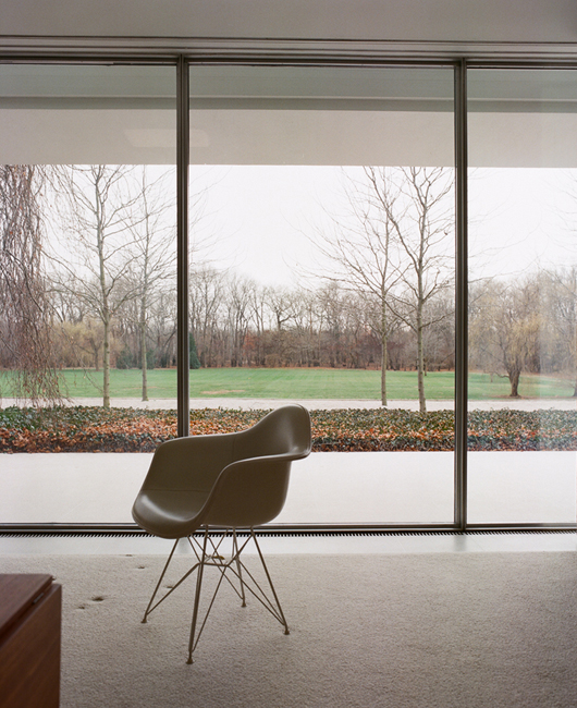 The Miller House, Eames Chair.