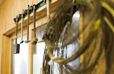 A glimpse inside Ruka Kikuchi's Setouchi studio.