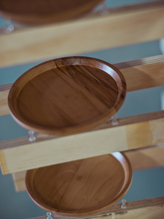 Sweet Gum Wood Dishes for Hook Plate