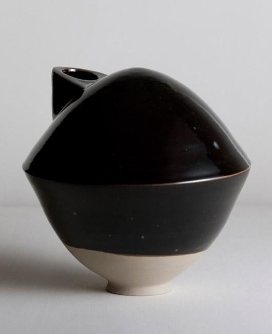 Matthias Kaiser Black Vase