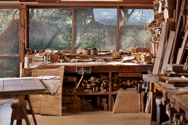 Inside the Nakashima Workshop
