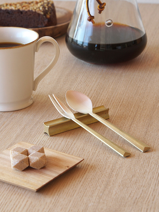Cutlery designed by Oji Masanori for FUTAGAMI