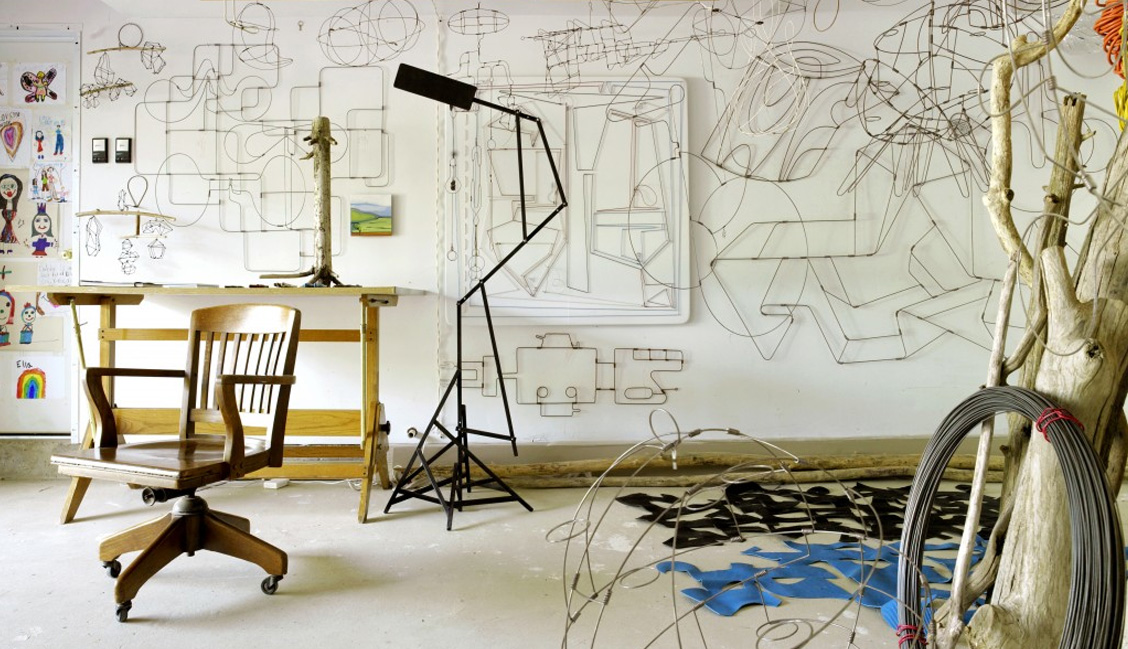American Wire Sculptor Rodger Stevens